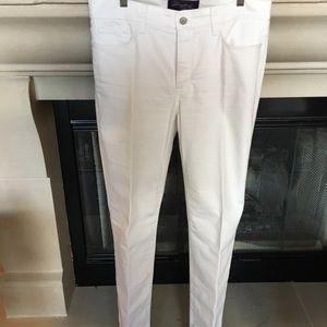 NYDJ white jeans 8